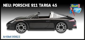 Junior Kit Porsche 911 Targa 4S