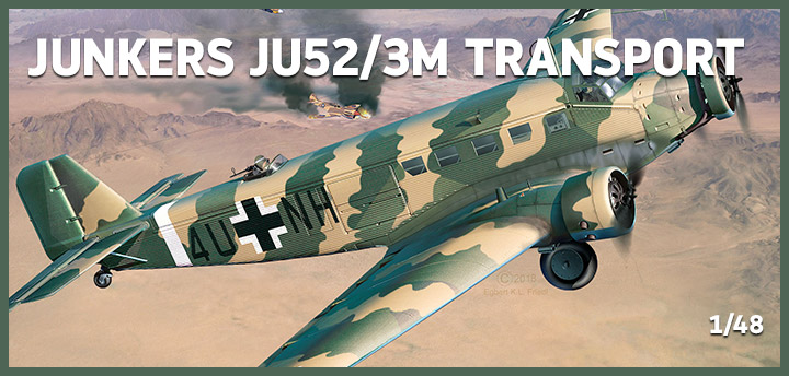 Junkers Ju52/3m Transport 03918