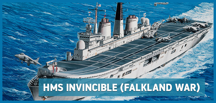 HMS Invincible (Falkland War) Revell 05172