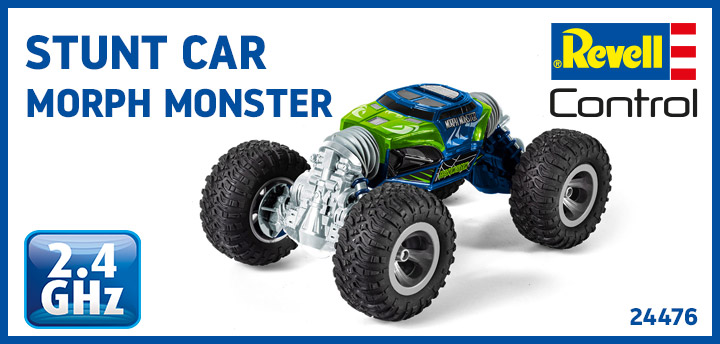 Stunt Car Morph Monster 24476