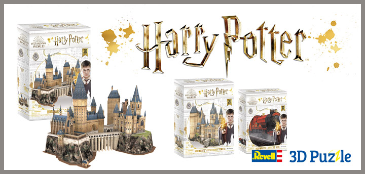 Harry Potter Revell 3D Puzzle