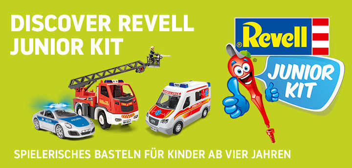 Entdecke Revell Junior Kit