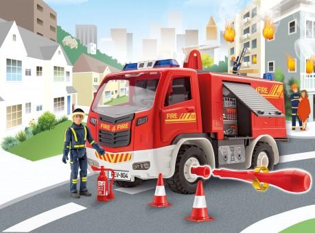 Feuerwehr mit Figur
