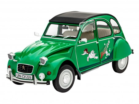"Model Set Citroën 2CV ""Sausss Ente"""