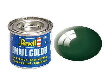 Color moosgrün, glänzend