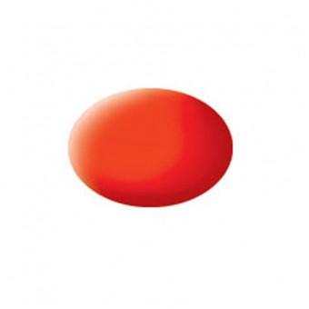 Aqua luminous orange mat