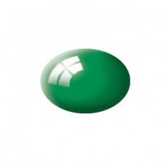 Aqua emerald green gloss