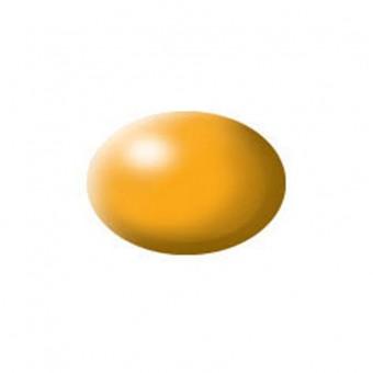 Aqua lufthansa-gelb, seidenmatt
