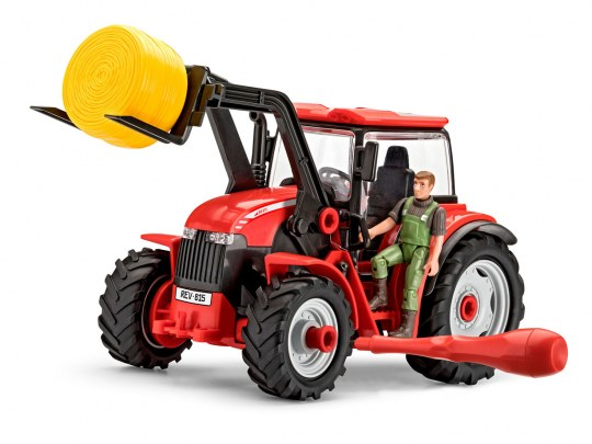 Tractor with Loader and Figure