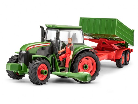 Tractor & Trailer with Figure
