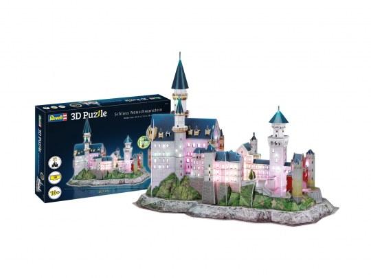 Schloss Neuschwanstein-LED Edition