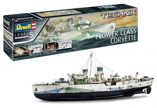 Flower Class Corvette - Technik