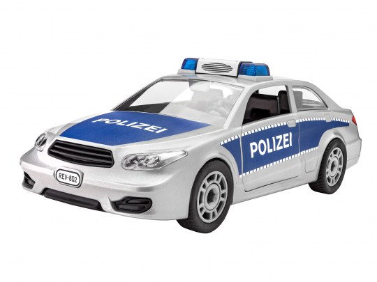Polizeiauto als Modell
