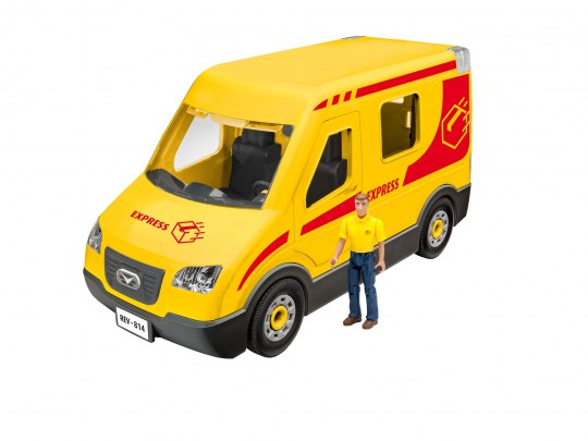 Paketdienst-Fahrzeug