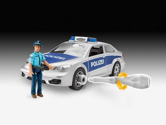 Polizei mit Figur