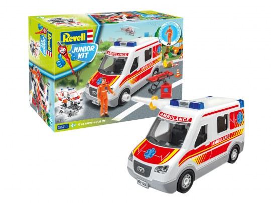 Rettungswagen mit Figur