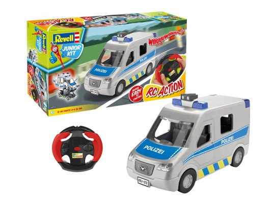 Junior Kit RC Police Van