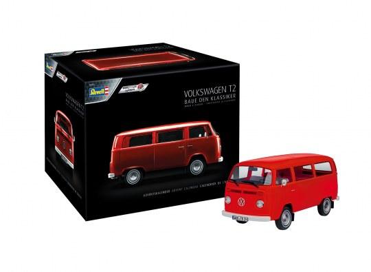 Advent calendar VW T2 Bus