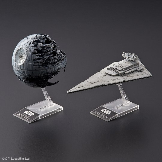Death Star II + Imperial Star Destroyer