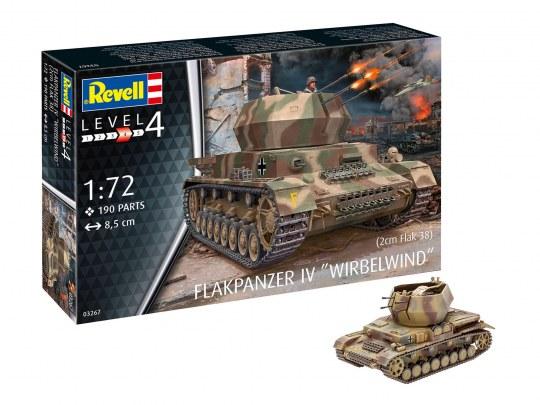 Flakpanzer IV Wirbelwind (2 cm Flak 38)