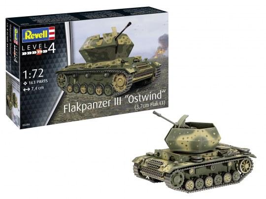 "Flakpanzer III""Ostwind"" (3,7 cm Flak 43)"