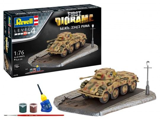 First Diorama Set - Sd.Kfz. 234/2 Puma