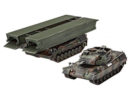 "Leopard 1A5 & Bridgelayer""Biber"""