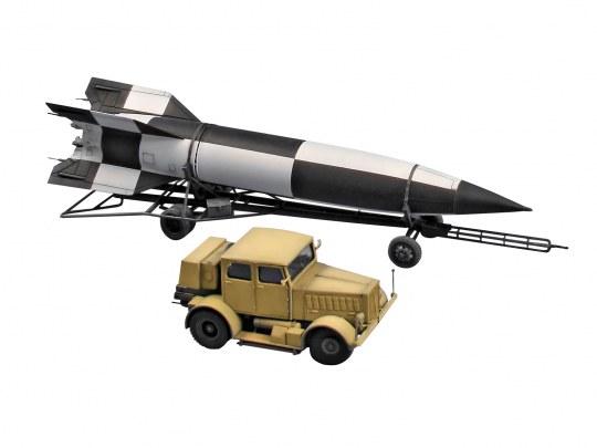 SS-100 Gigant + Transporter + V2