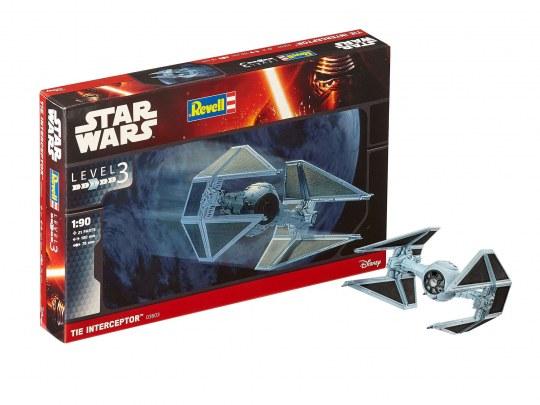 Star Wars TIE-Interceptor Bausatz