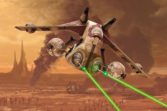 Model Set Republic Gunship