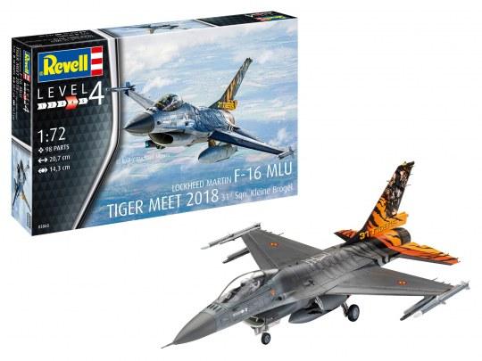 F-16 MLU TIGER MEET 2018 31 Sqn. Kleine Brogel