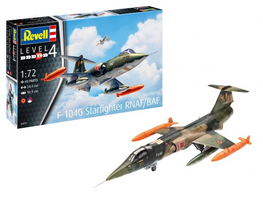 F-104 G Starfighter RNAF/BAF