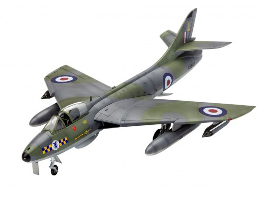 Model Set 100 Years RAF: Hawker Hunter FGA
