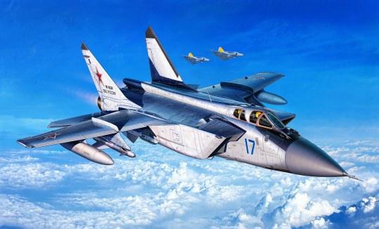Model Set MiG-31 Foxhound