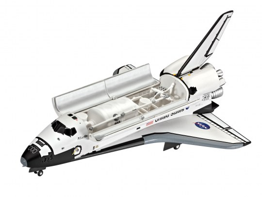 Model Set Space Shuttle Atlantis