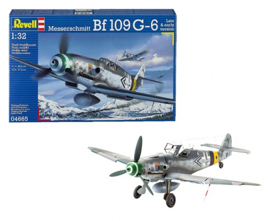 Messerschmitt Bf109 G-6 Late & early version