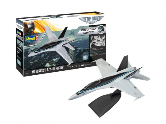 Model Set - Maverick's F/A-18 Hornet 'Top Gun: Maverick' easy-click