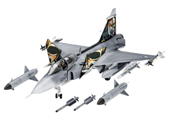Model Set Saab JAS-39C GRIPEN