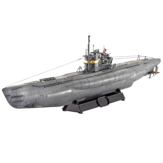 German Submarine TYPE VII C/41  Atlantic Version