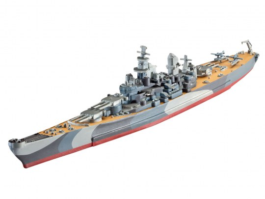Model Set Battleship U.S.S. Missouri(WWII)