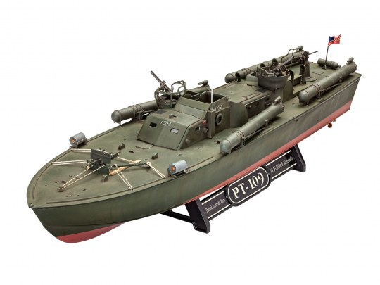 Model Set Patrol Torpedo Boat PT-109