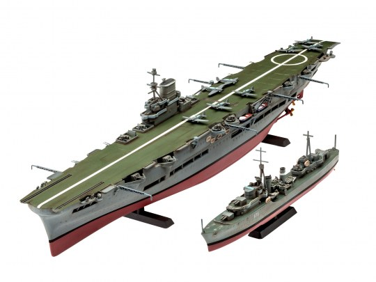 HMS Ark Royal & Tribal Class Des