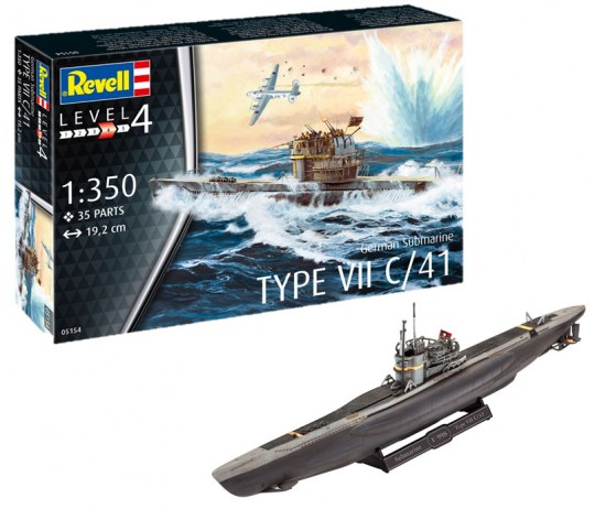 German Submarine Type VII C/41