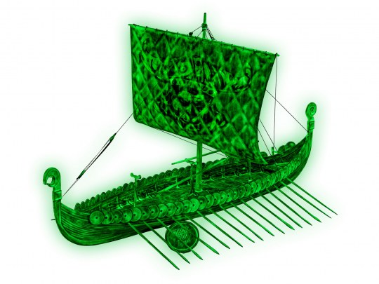 Viking Ghost Ship