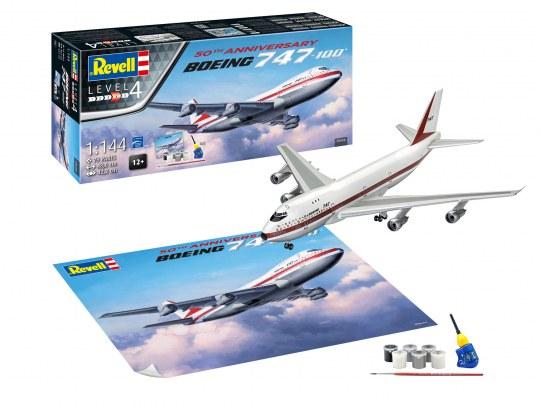 Boeing 747-100, 50th Anniversary