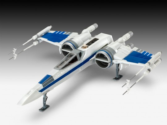 Model Set Resistance X-Wing Fighter