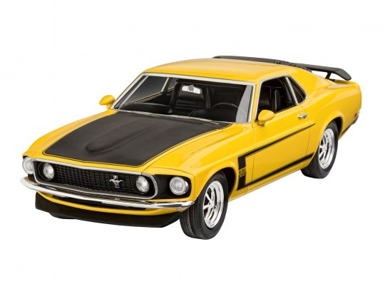 Model Set 1969 Ford Mustang Boss