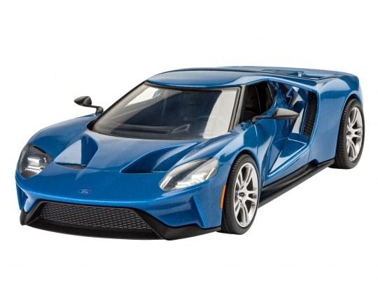 Modellbau Rennwagen 2017 Ford GT
