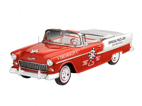 Model Set '55 Chevy Indy Pace Car
