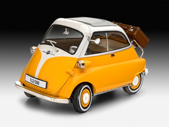 BMW Isetta 250 beige/yellow
